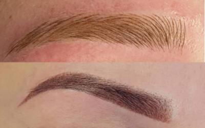 Permanente make-up technieken voor de wenkbrauwen